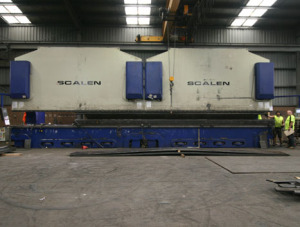 Metal press brake in Melbourne